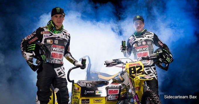 Sidecarteam Bax sluit overeenkomst Monster Energy