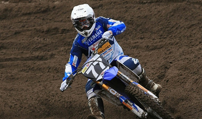 Erik Eggens aan de start in GP Valkenswaard