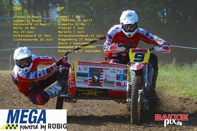 ONK Sidecar & Quad Masters 10 maart (KNMV)