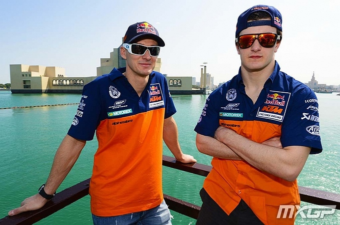 Jeffrey Herlings pakt pole in Qatar