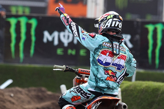High Five voor Jeffrey Herlings in Valkenswaard !!!