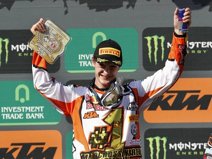 Jeffrey Herlings, wereldkampioen motorcross MX2, is sportman van het jaar in Gemert-Bakel