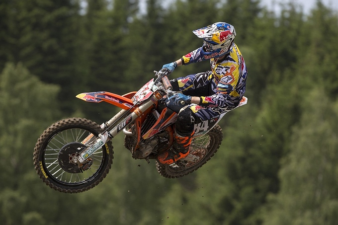 Jeffrey Herlings blijft in het WK MX2 in 2016